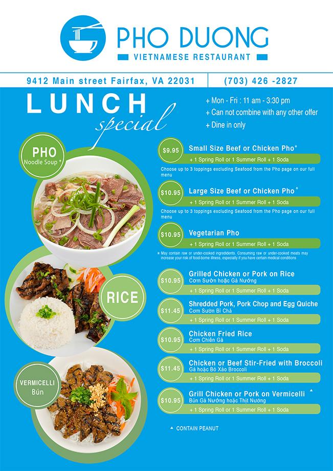 Pho Duong Vietnamese Restaurant Fairfax